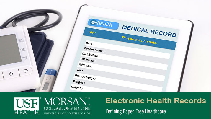 what are electronic health records usf health online