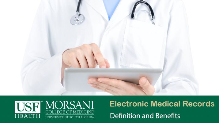 what are electronic medical records usf health online